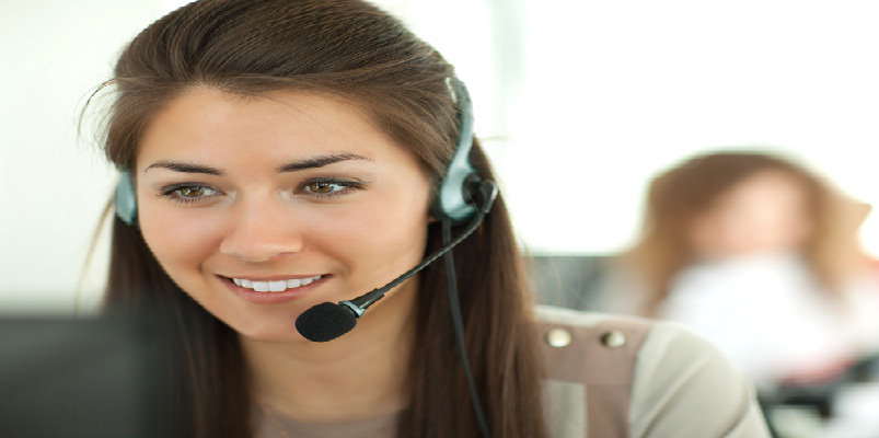 Female Service Desk Specialist